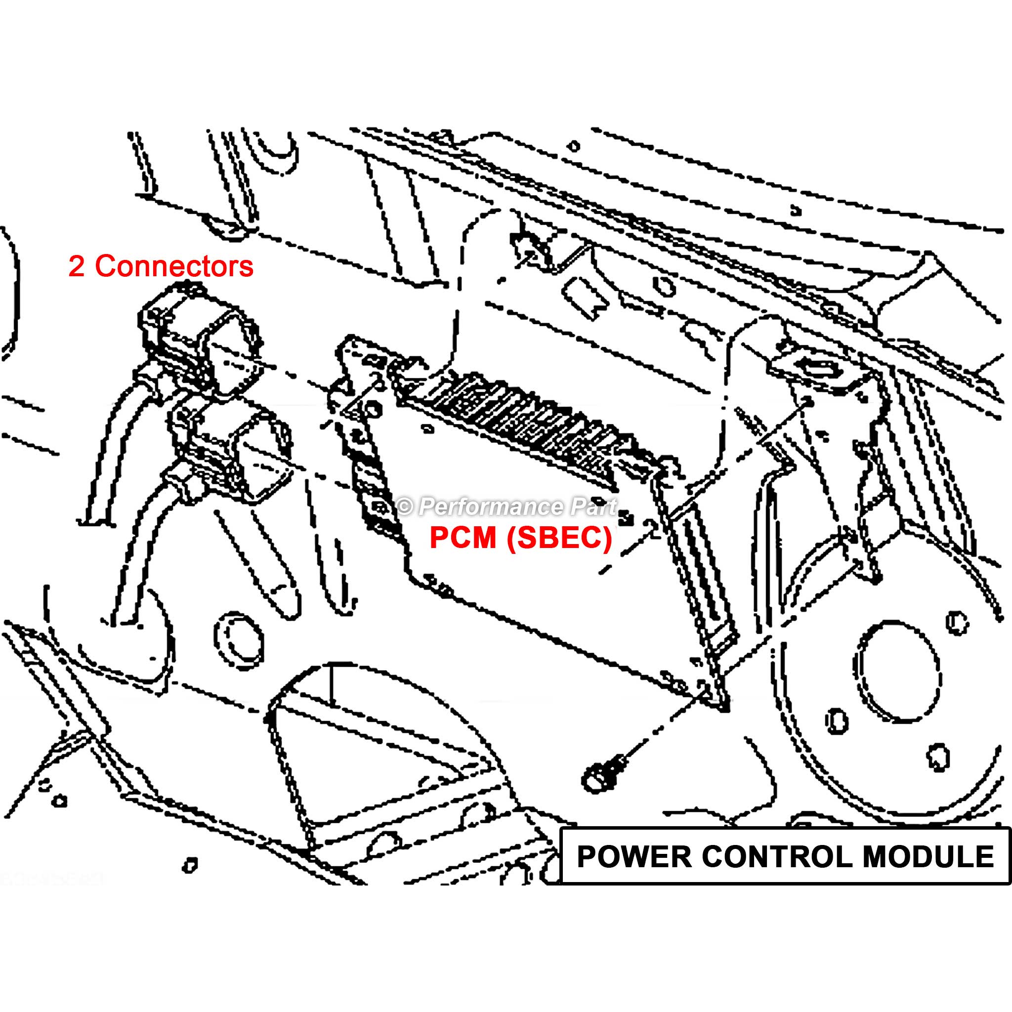 engine wiring harness for 05 cavalier