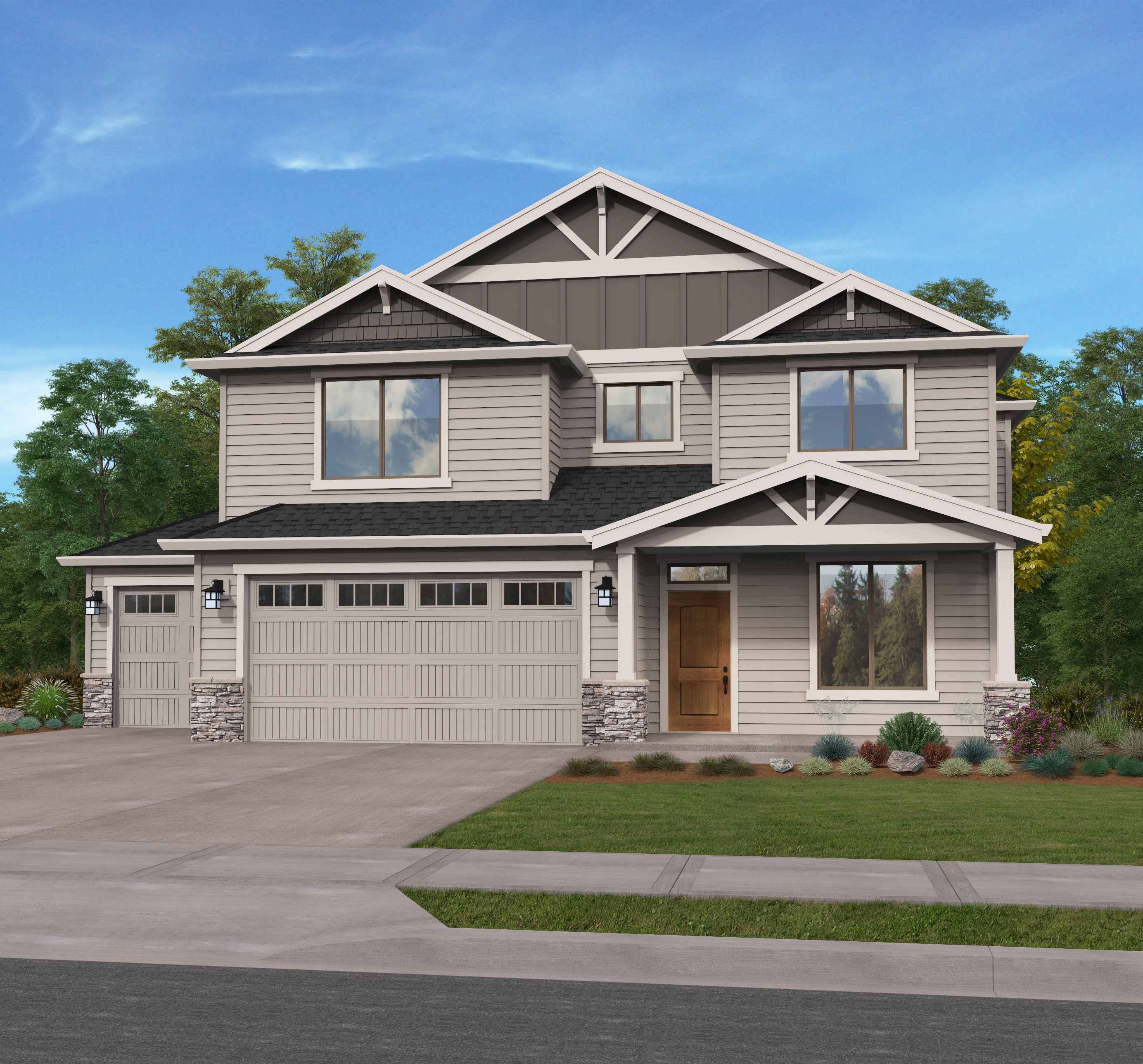 Garage Builders Tri Cities Wa Custom Home Builders Vancouver Wa Evergreen Homes
