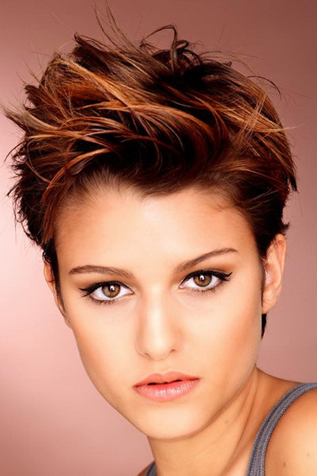 Kurzhaarfrisuren Damen Ab 50 Jahre Frisuren Pixie Cut 2016