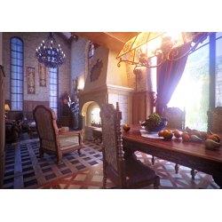 Antique Interior Rendering Gothic Interior Design By Andrew Rodich Olenachyslova Interior Rendering Gothic Interior Design Portfolio Work Gothic Interior Design Ideas Gothic Interior Design Wikipedia