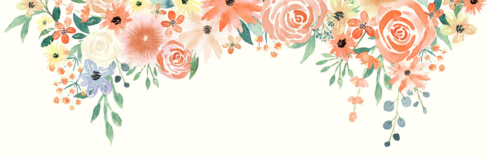 Free Fall Flowers Wallpaper Watercolor Florals For Graphic Design Every Tuesday