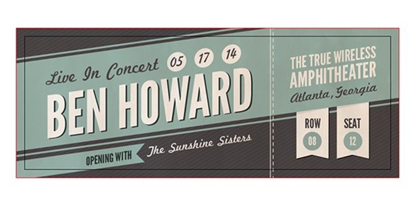 How to Create a Custom Concert Ticket in Adobe Illustrator - Concert Ticket Templates