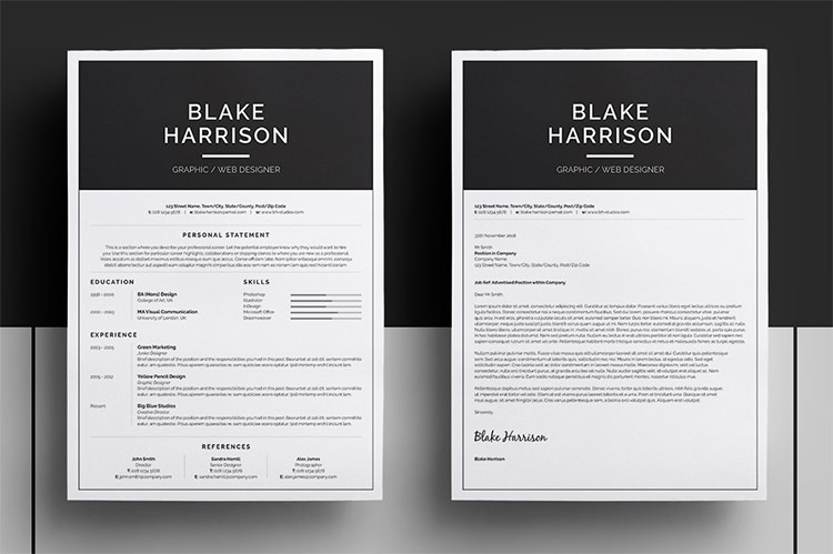 Roundup 5 Clean and Creative Resume Templates - Every-Tuesday - resume design