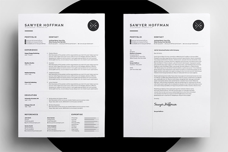 Roundup 5 Clean and Creative Resume Templates - Every-Tuesday - Resume Layout