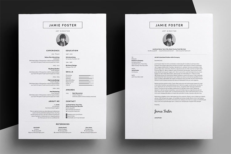 Roundup 5 Clean and Creative Resume Templates - Every-Tuesday