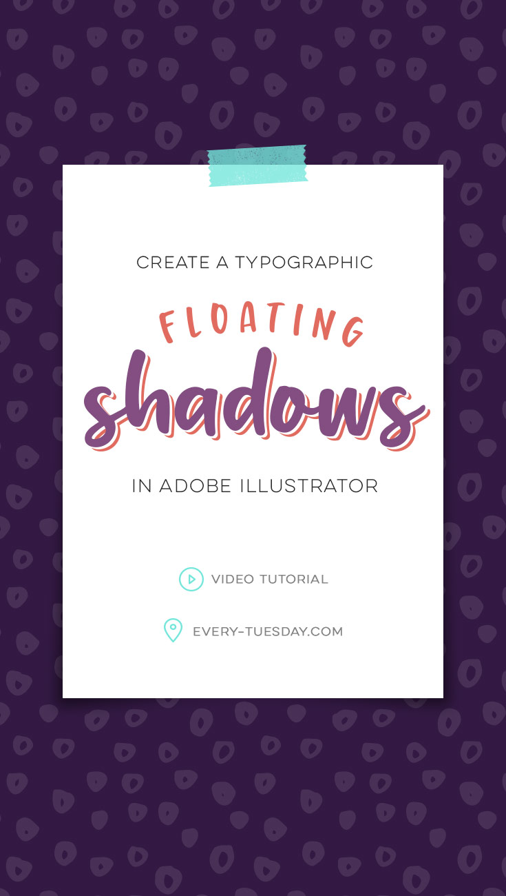 Adobe Convert Image To Text Create Typographic Floating Shadows In Adobe Illustrator