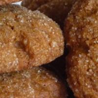 Crispy Ginger Molasses Cookies