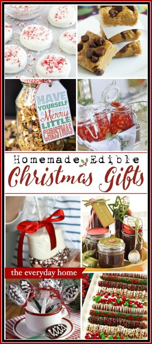 Homemade Edible Christmas Gifts | The Everyday Home | www.everydayhomeblog.com