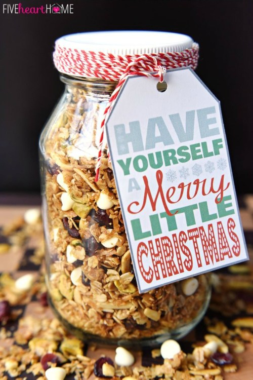 Christmas Gingerbread Granola | The Everyday Home | www.everydayhomeblog.com