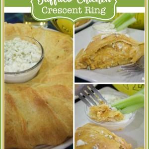Buffalo Chicken Crescent Ring