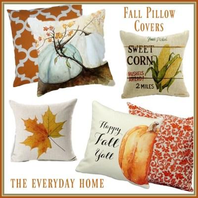 20 Fabulous Fall Pillow Covers on Amazon