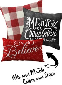 25 Must-Have Christmas Pillow Covers Under $10 - The ...
