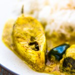 Shorshe Bhapa Ilish | Steamed Hilsa in Mustard Sauce