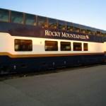 Train ride through the Canadian Rockies