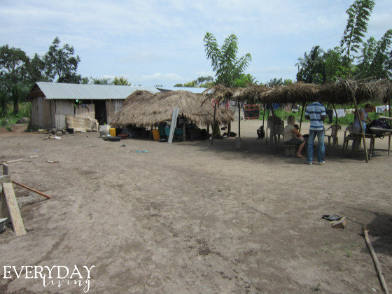 When we arrived in July 2011, this was the orphanage facilities.