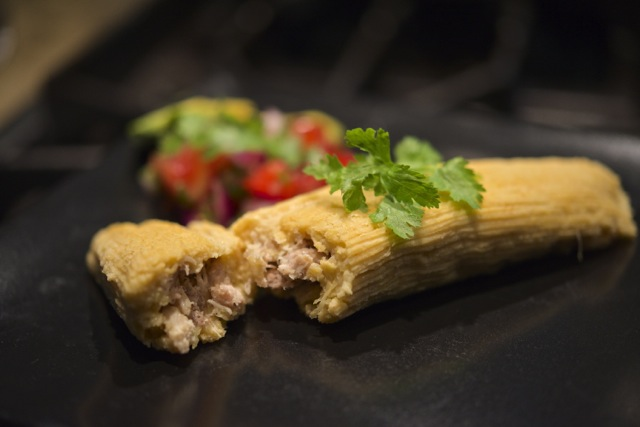 Paleo Leftover Turkey Tamales