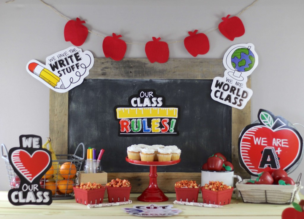 Back To School Snack Table Everyday Party Magazine