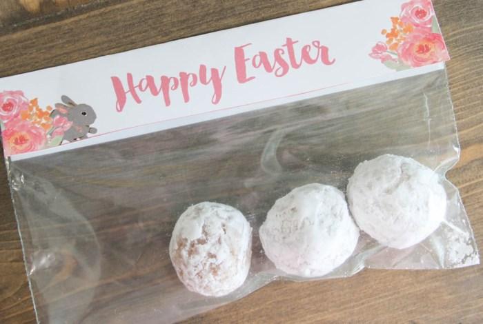 Happy easter treat bag topper printable make life lovely easter treat bag topper printable negle Gallery