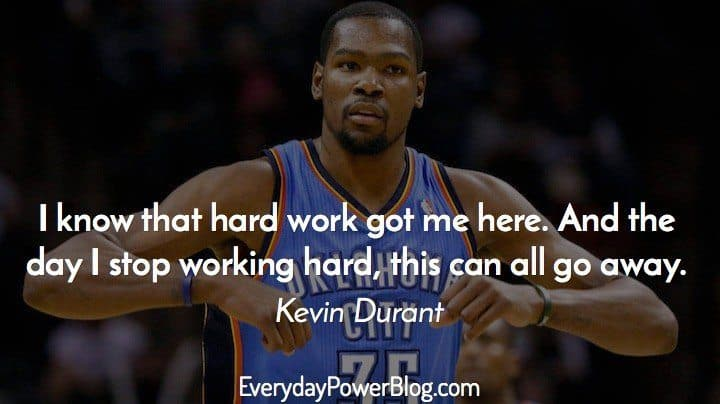 Kd Quotes Wallpaper 25 Best Kevin Durant Quotes About Success Everyday Power