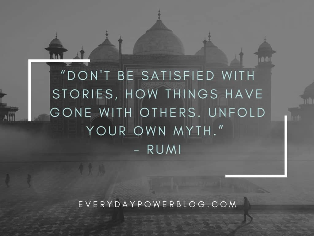 rumi quotes from his poems about love and life that will inspire you