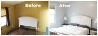 Master Bedroom Makeover with HGTV Home by Sherwin-Williams ...
