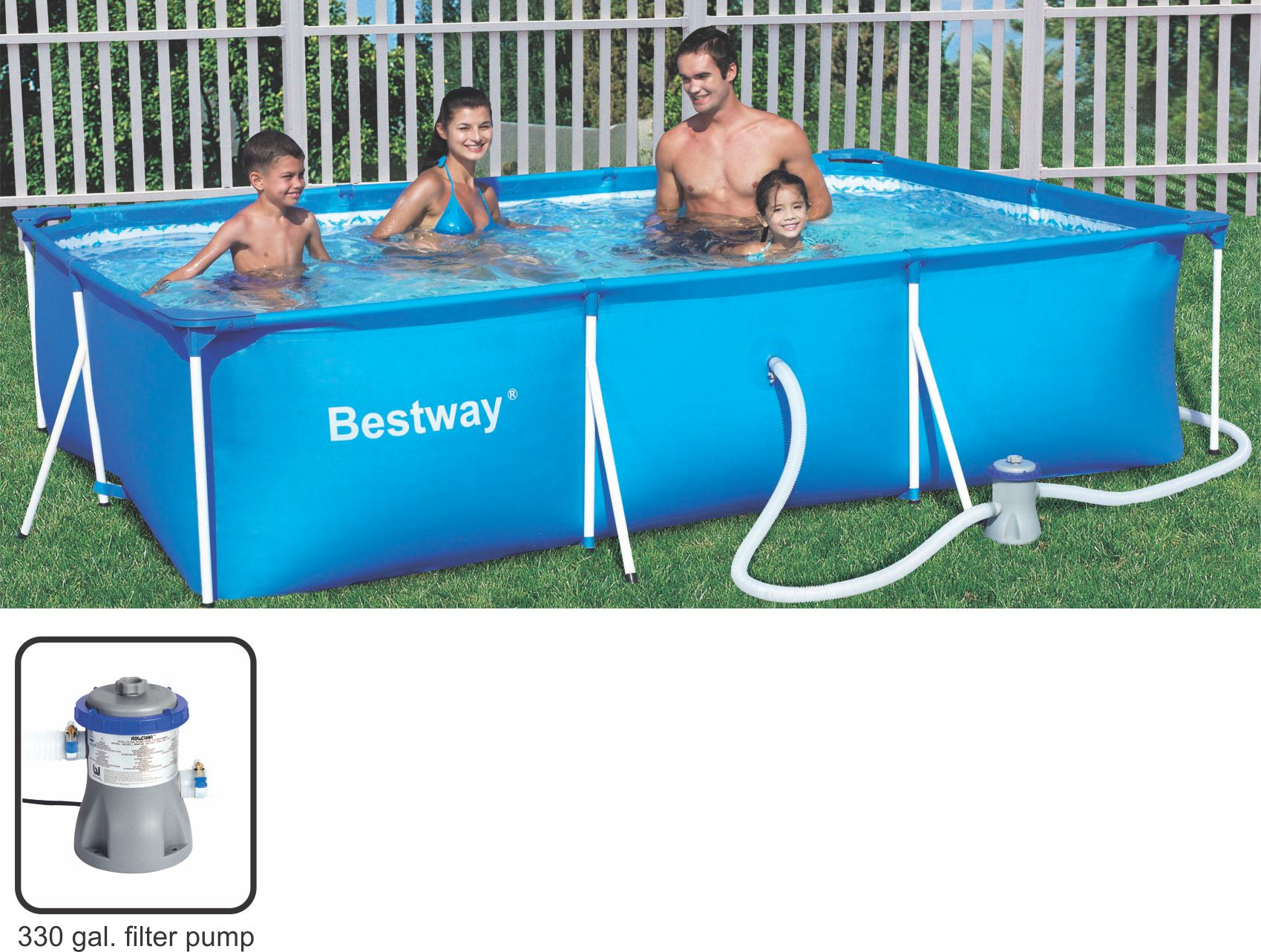 Bestway Pools Cape Town Swimming Pools Bestway Deluxe Splash Frame Pool 300