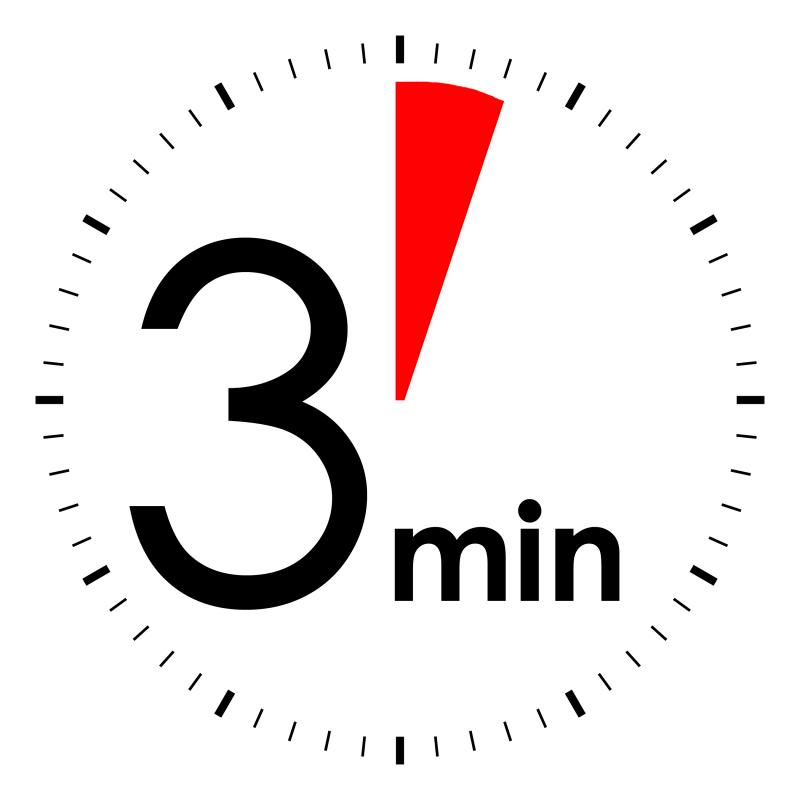 start 3 minute timer - Jolivibramusic