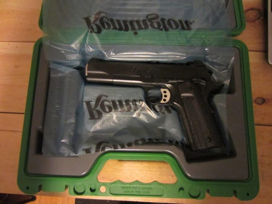 Remington R1 Enhanced in case