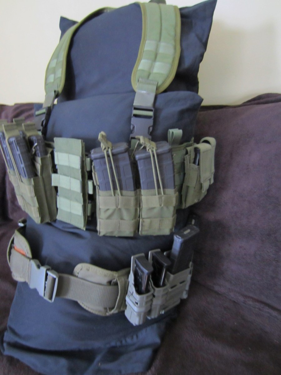 Operator's left side of MAV and Sure-Grip belt