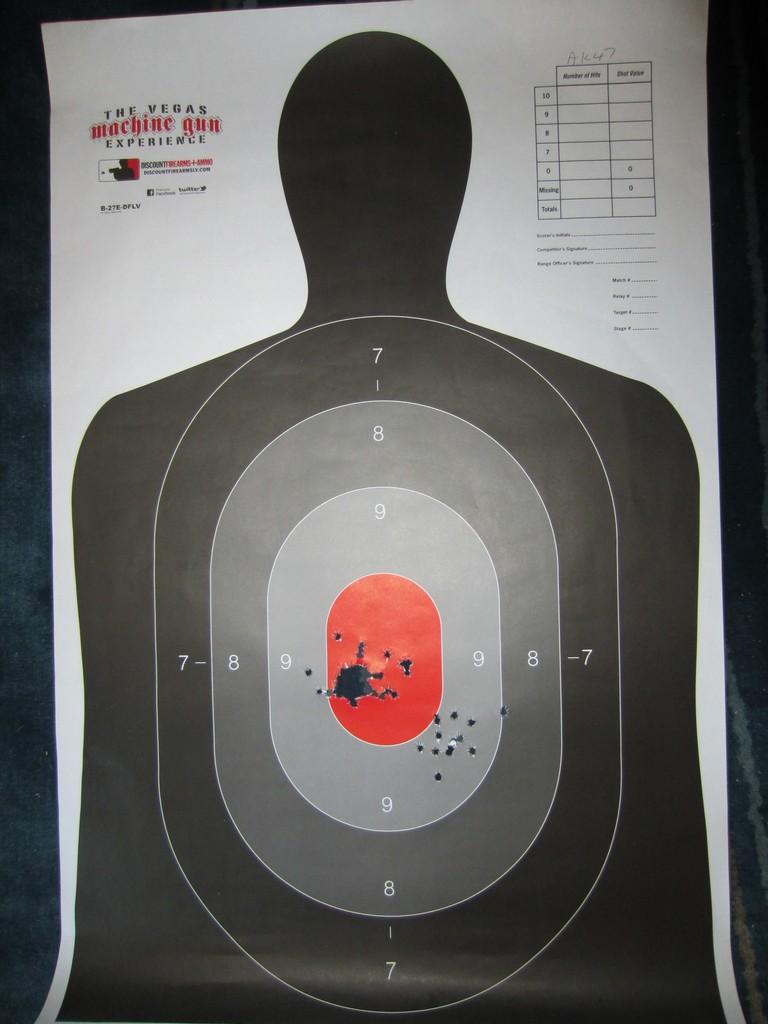 AK47 Target