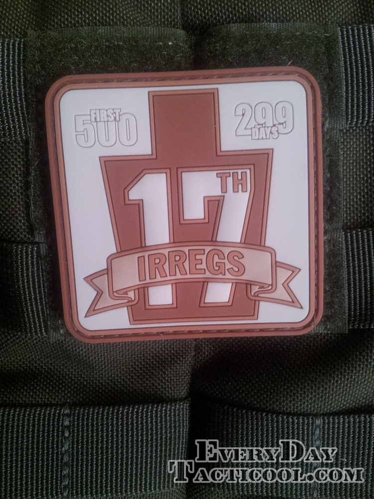 299 Days PVC Patch