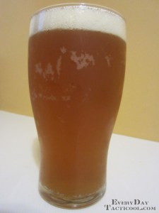Highballer Pumpkin Ale Ale Poured