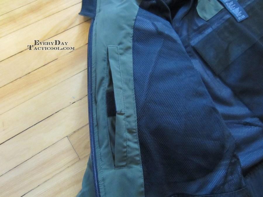 Velcro Pocket