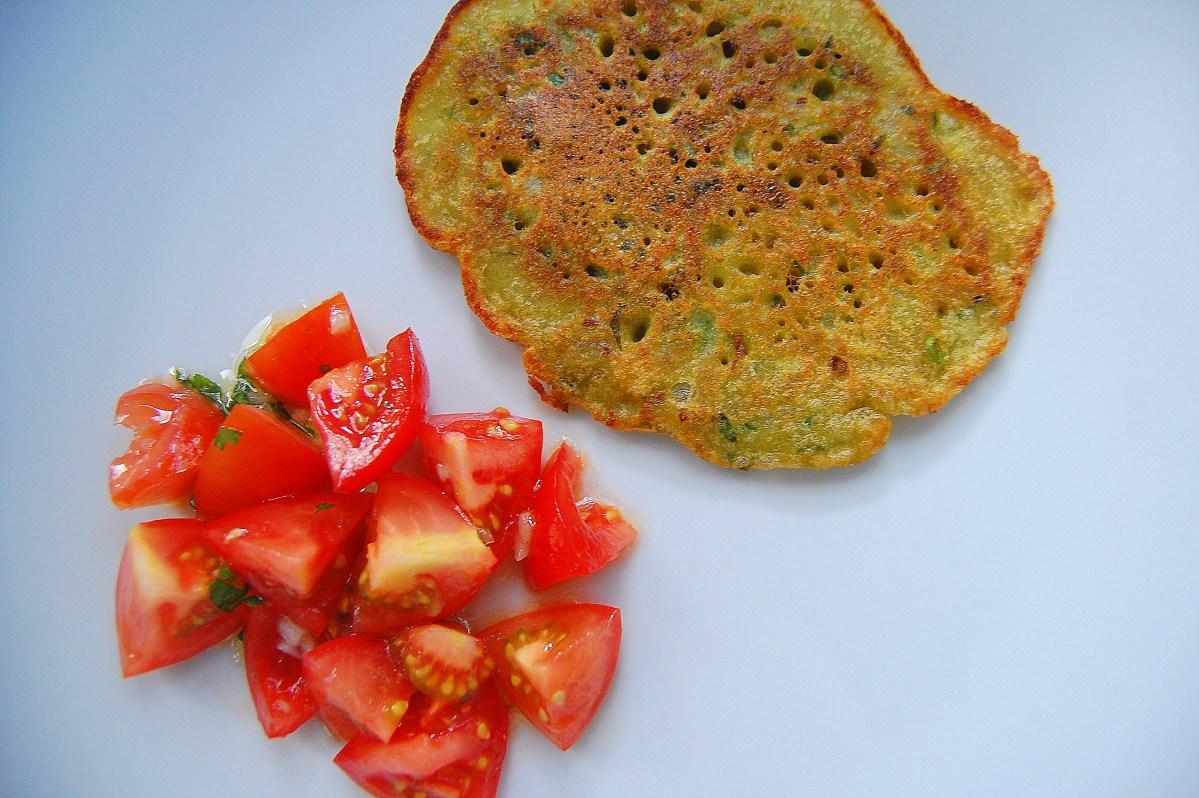 Red Lentils Omelet / Savory Pancake Recipe
