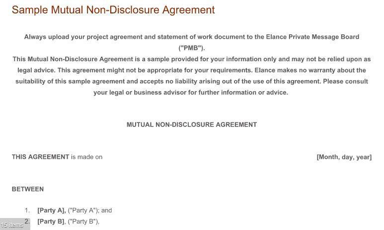 Should you use an NDA for mobile app development - EveryNDA - mutual confidentiality agreement