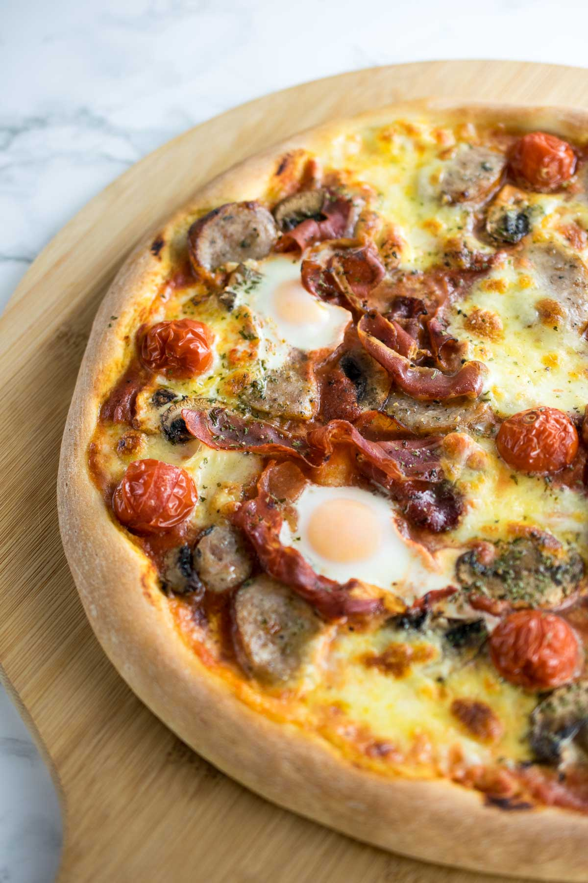 Breakfast All Day All Day Breakfast Pizza Every Nook Cranny