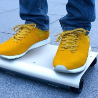 Check out the WalkCar, a personal transportation system that fits in your backpack