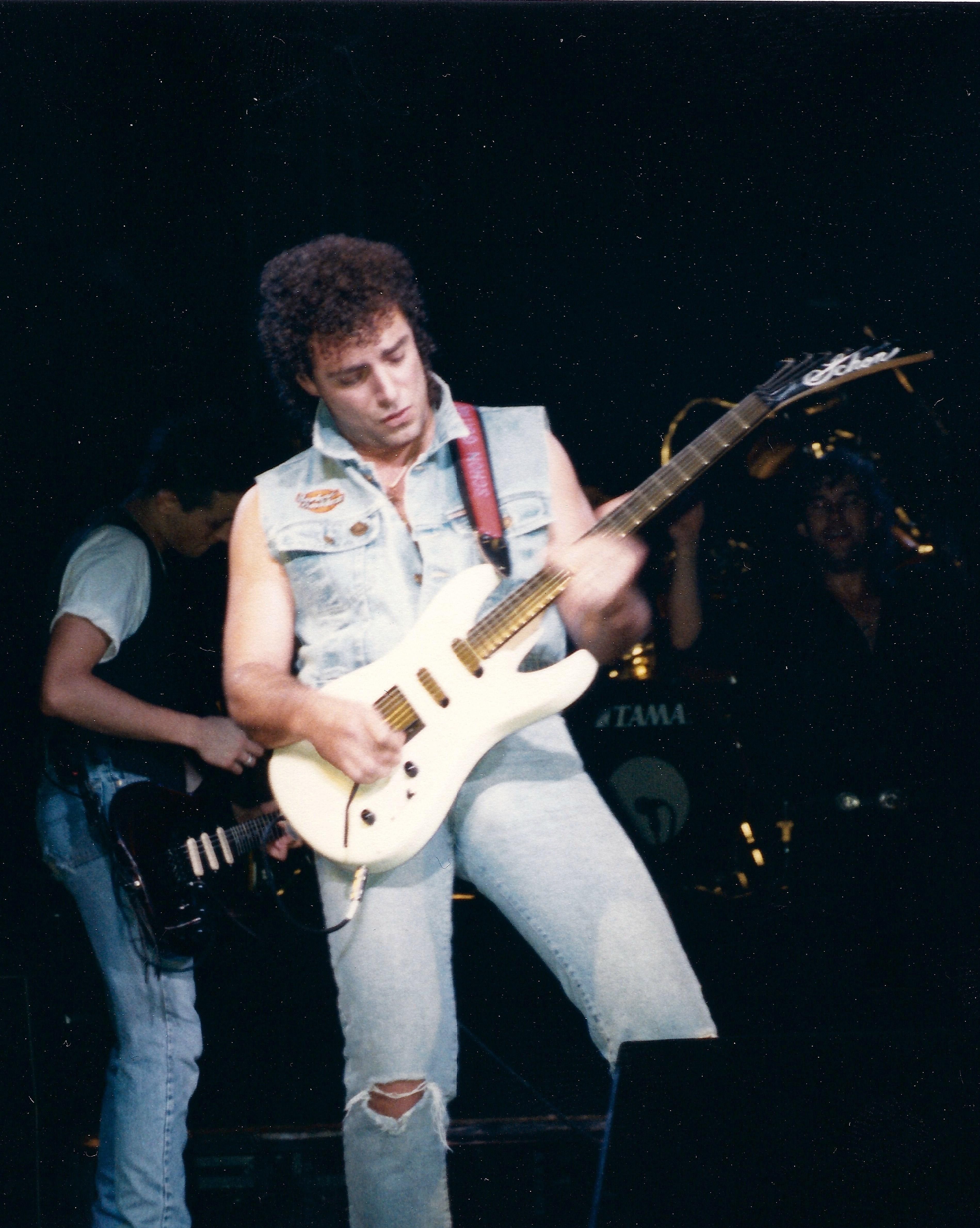 Indie Wallpaper Hd Neal Schon With Jimmy Barnes Johnny Diesel Brixton 1988