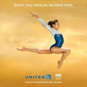 United Airlines Team USA campaign