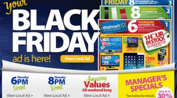 Walmart Black Friday 2013