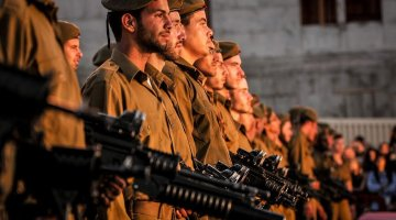 Swearing-in Ceremony of the Givati Brigade