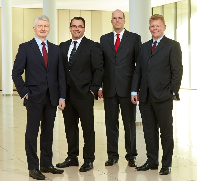 The Executive Board of ThyssenKrupp Group - Courtesy © ThyssenKrupp AG