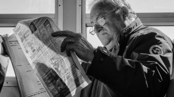 Morning Newspaper by Georgie Pauwels