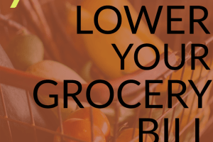 Lower your grocery bill and have more money for paying down debt or building up savings. Here are several tips to help you get started - it's not that hard!