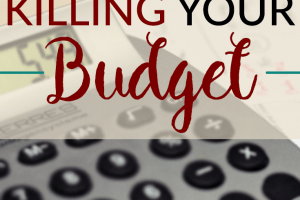 Do you have a habit of reaching the end of the month and not having any money left? Take a look at these 5 hidden costs that could be killing your budget.