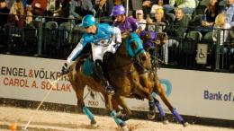 "Round Three of $250,000 Gladiator Polo™ League Presented by the U.S. Polo Assn. at the Wellington ""Coliseum"" Thursday, February 23rd. ©DavidLominska"