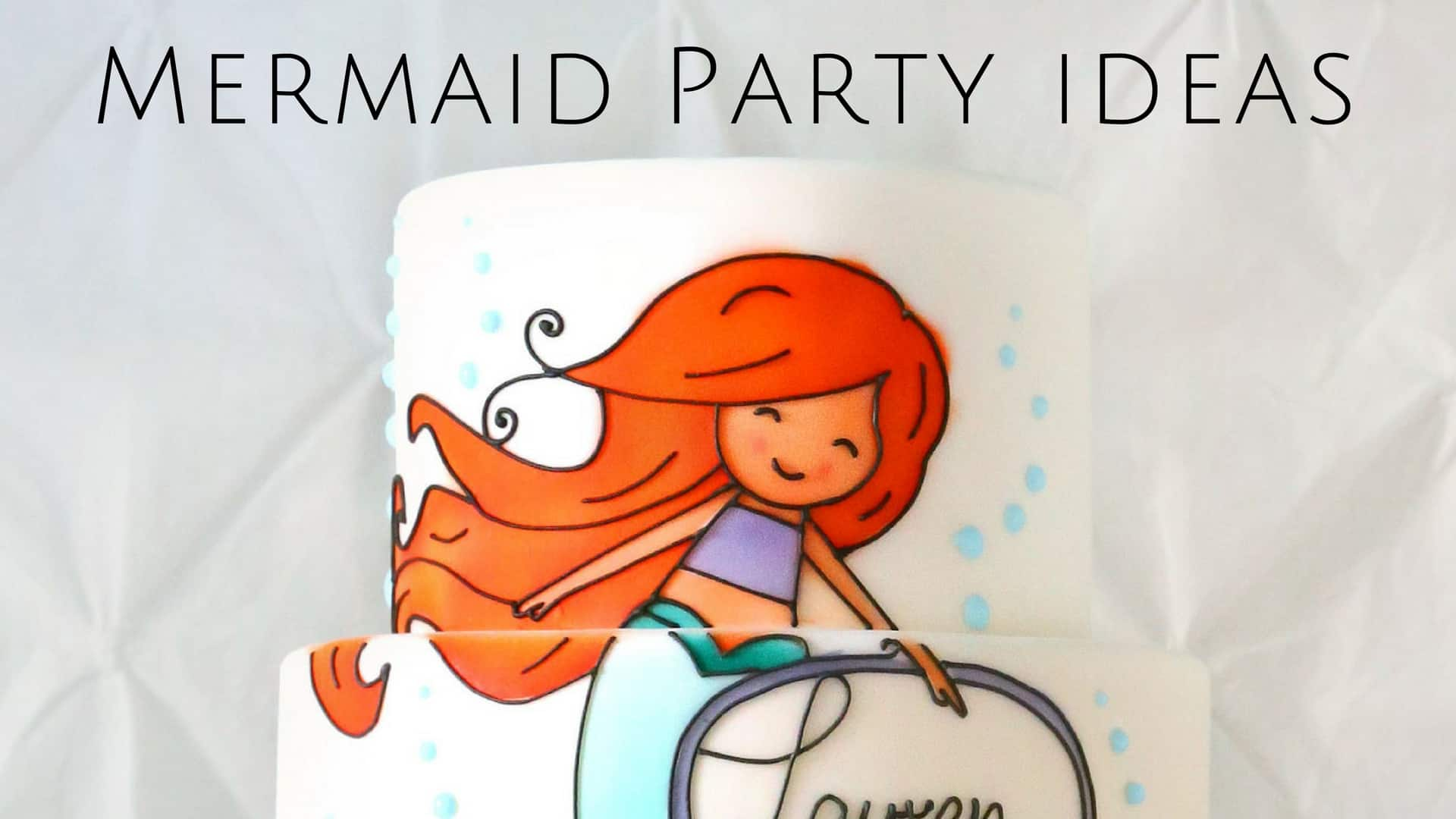 Mermaid Gift Ideas Mermaid Party Ideas From Invitations To Party Favors