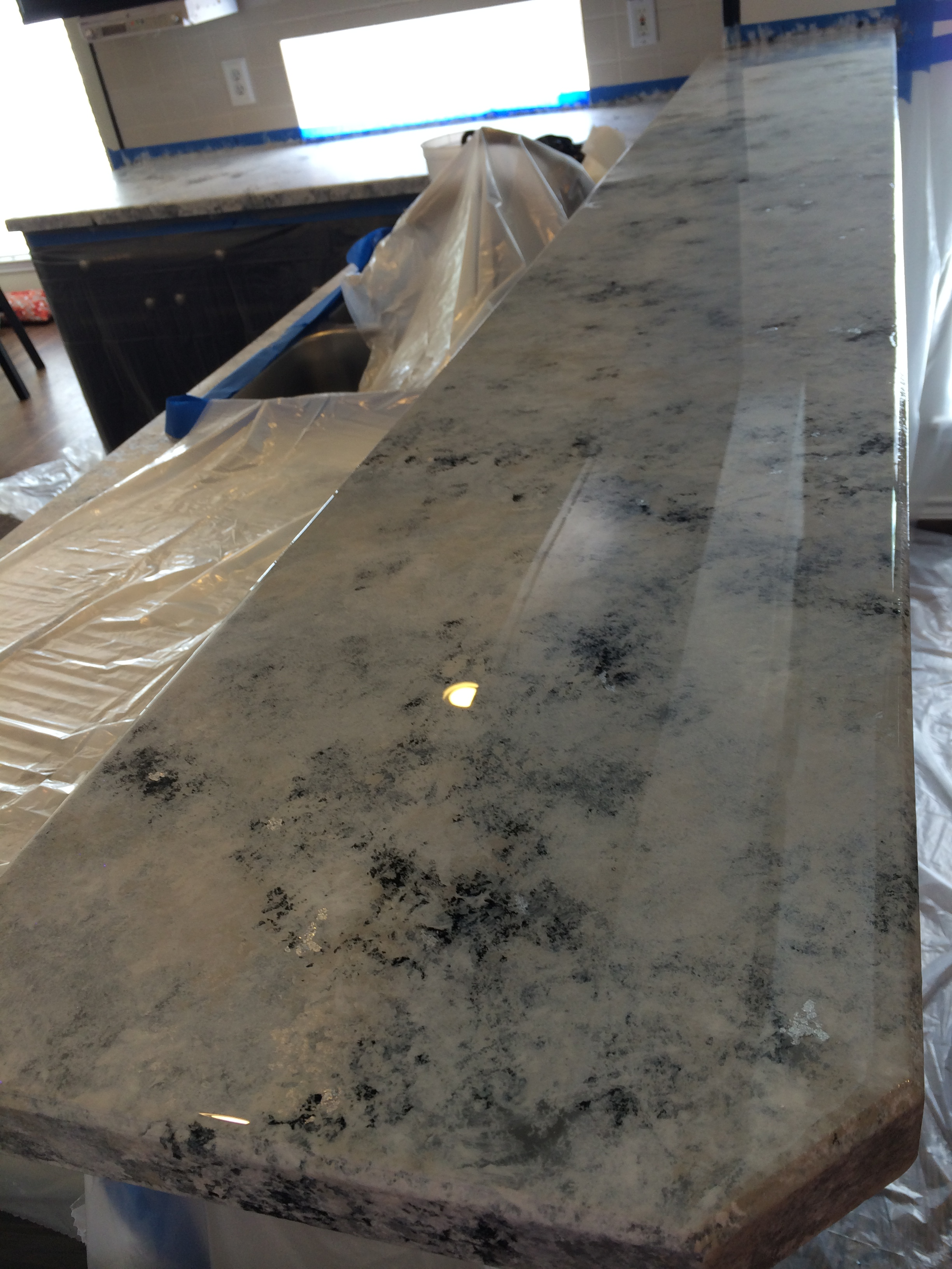Countertop Epoxy Paint Envirotex Lite Everything 39s Better With Sparkles