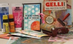 Gelli Plate Printing 101 @ Everything Scrapbook & Stamps | Lake Worth | Florida | United States