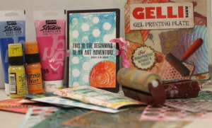 Gelli Plate Printing 101 @ Everything Scrapbook & Stamps | Lake Worth | Florida | United States